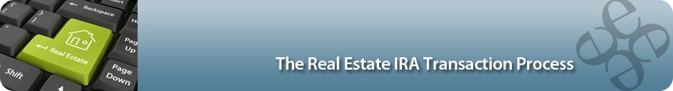 Real Estate IRA Transaction Infographic