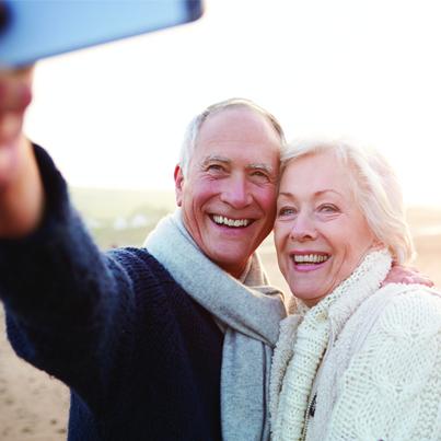 Selfie of your retirement