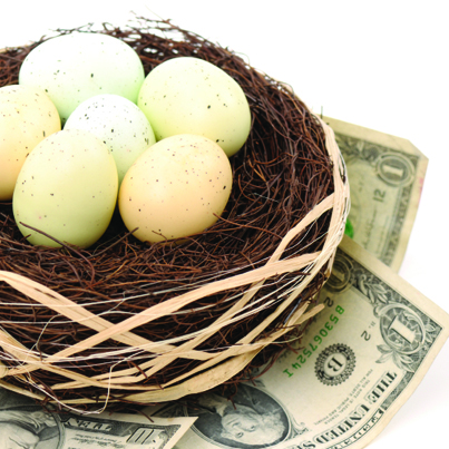 Save your nest egg