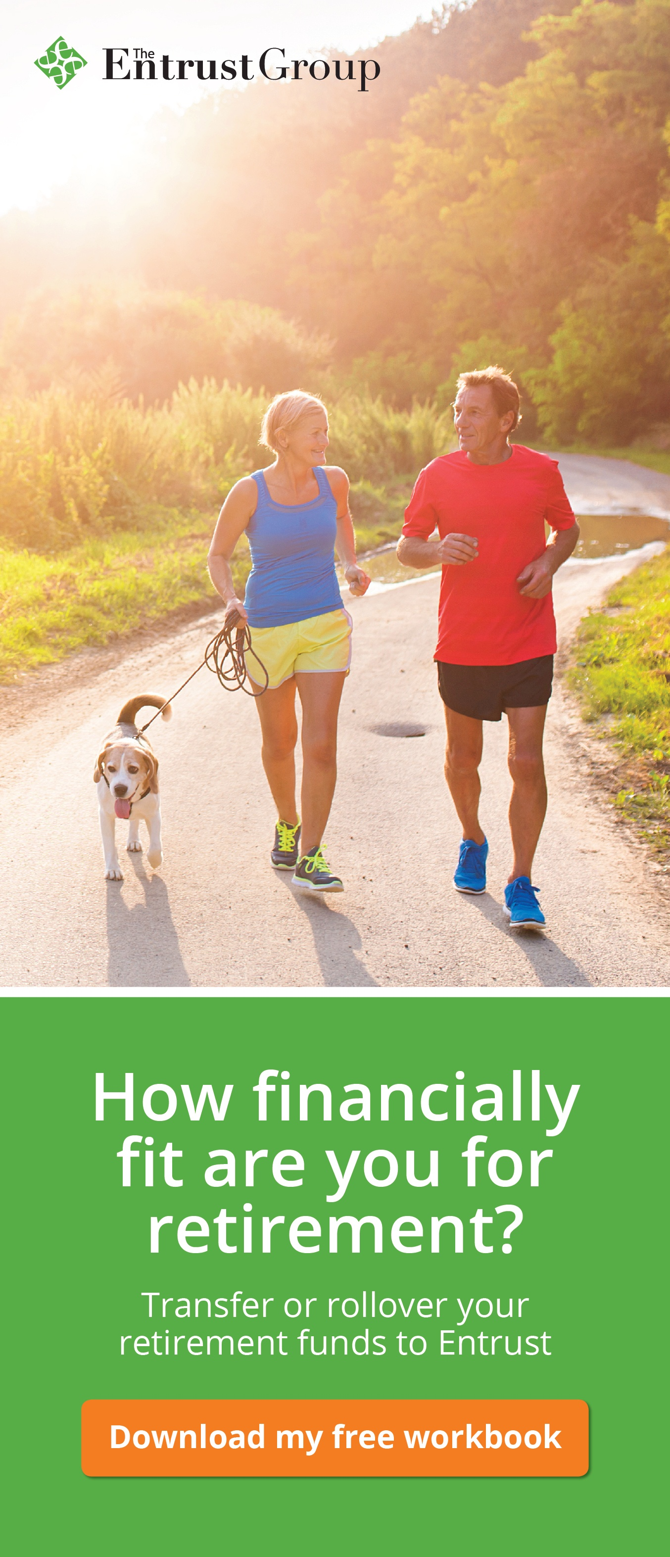 How financially fit are you for retirement? - Middle age man and women