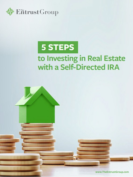 5 steps to investing in real estate IRA flat cover